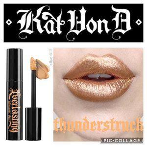 Kat Von D Glimmer Veil Lipstick NIB -Thunderstruck